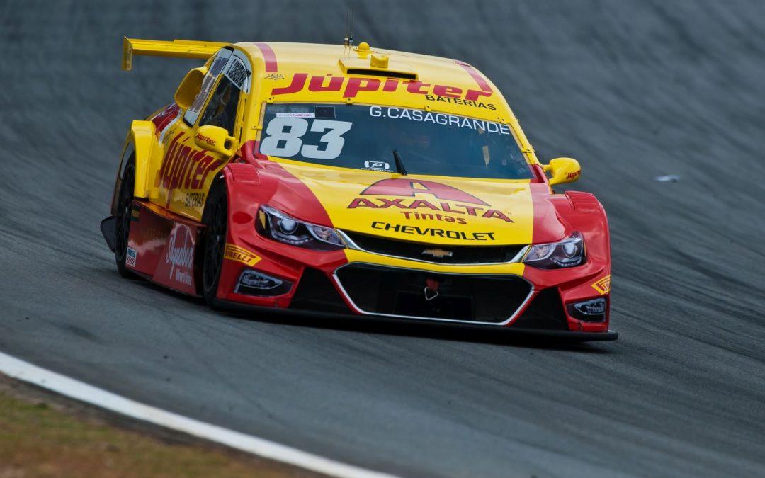 Gabriel Casagrande conquista quarto pódio na temporada com a Crown Racing